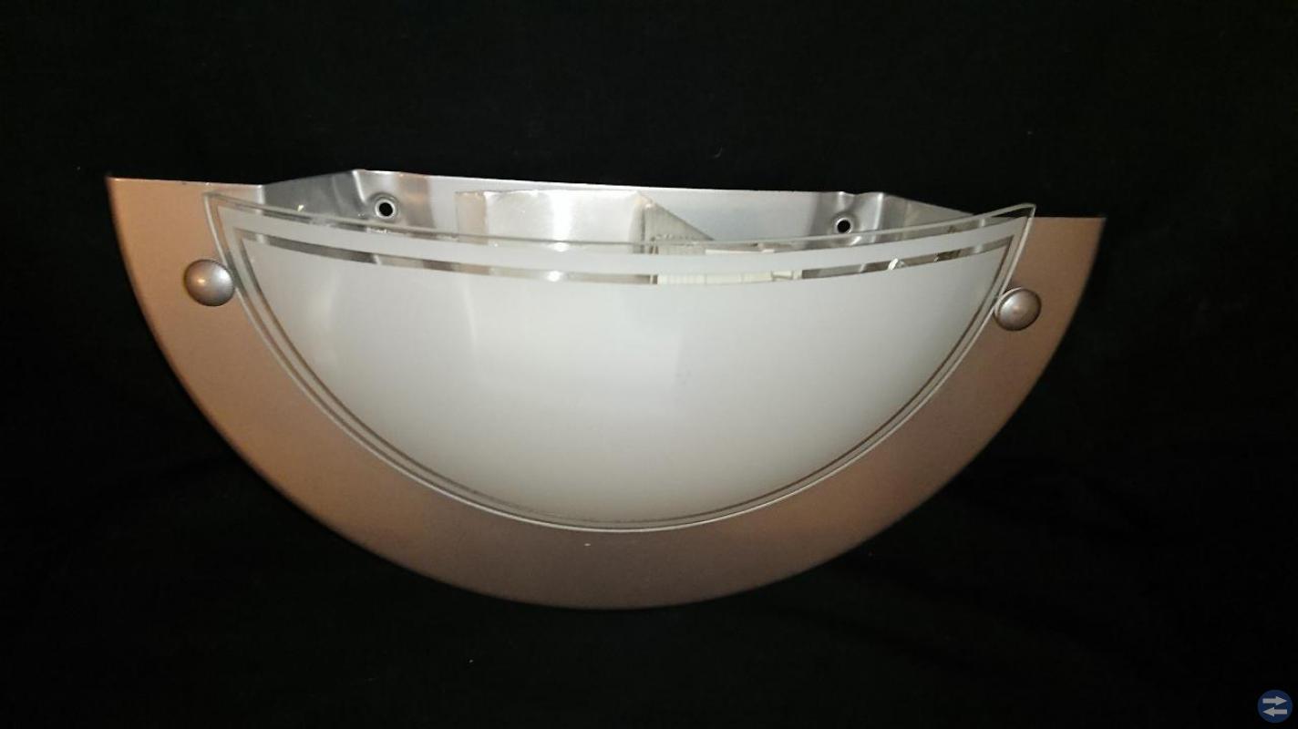NY! Vägglampa från A/S HARALD NYBORGSARTANO.