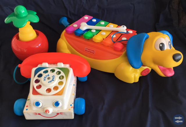 Fisher Price , Brio & Laban