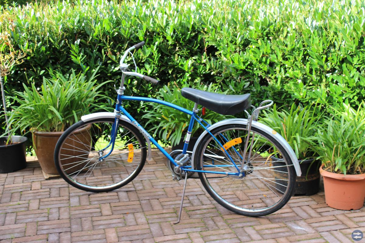 Cykel med limpsadel Crecent