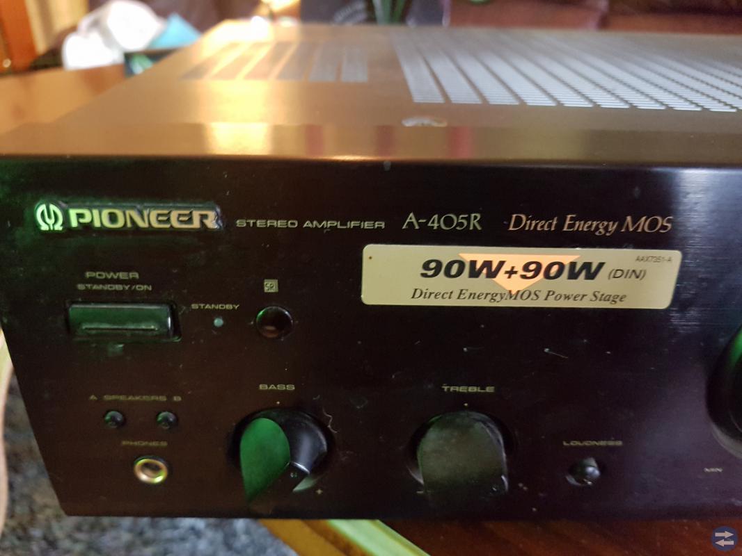 Pioneer förstärkare