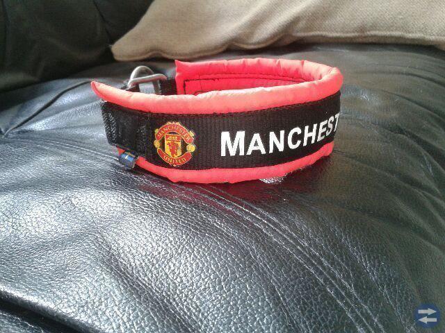 Hundhalsband -Manchester United ca 32-38cm