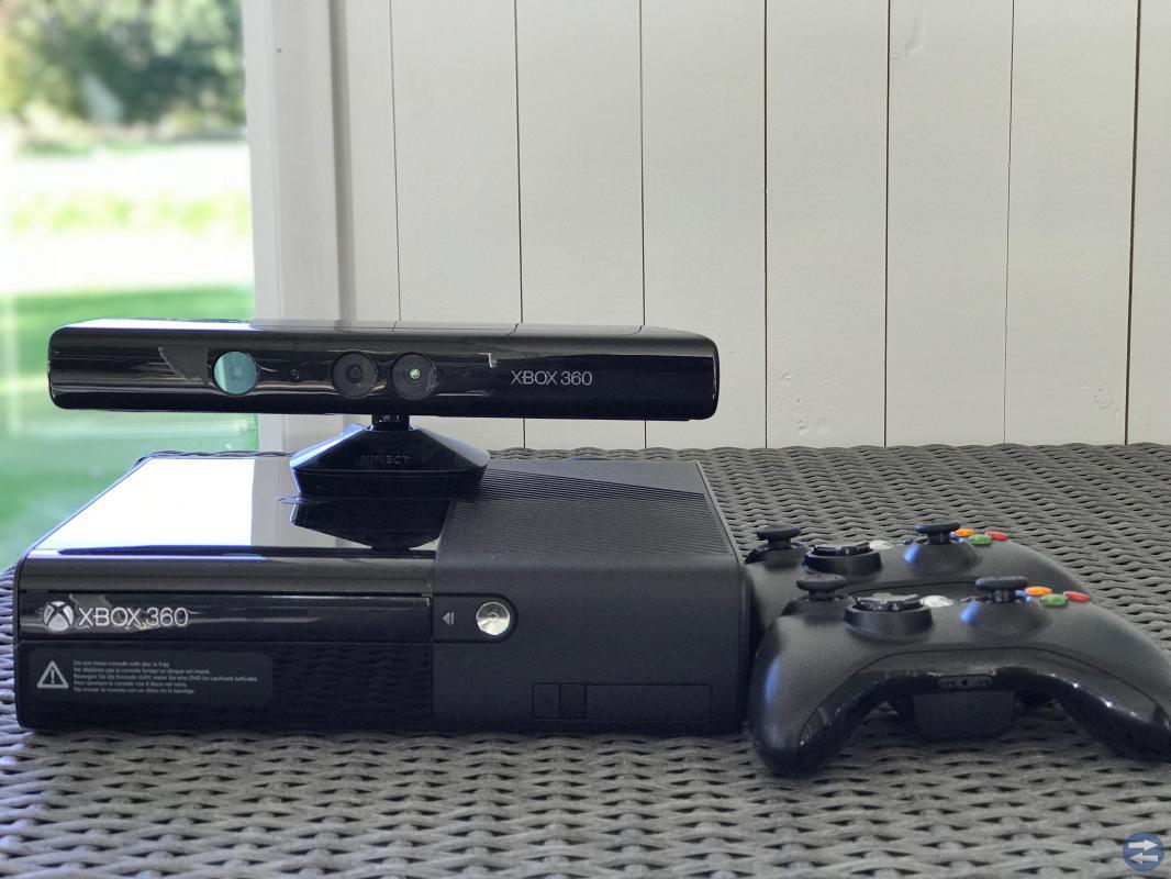 Xbox 360 och Wii med spel
