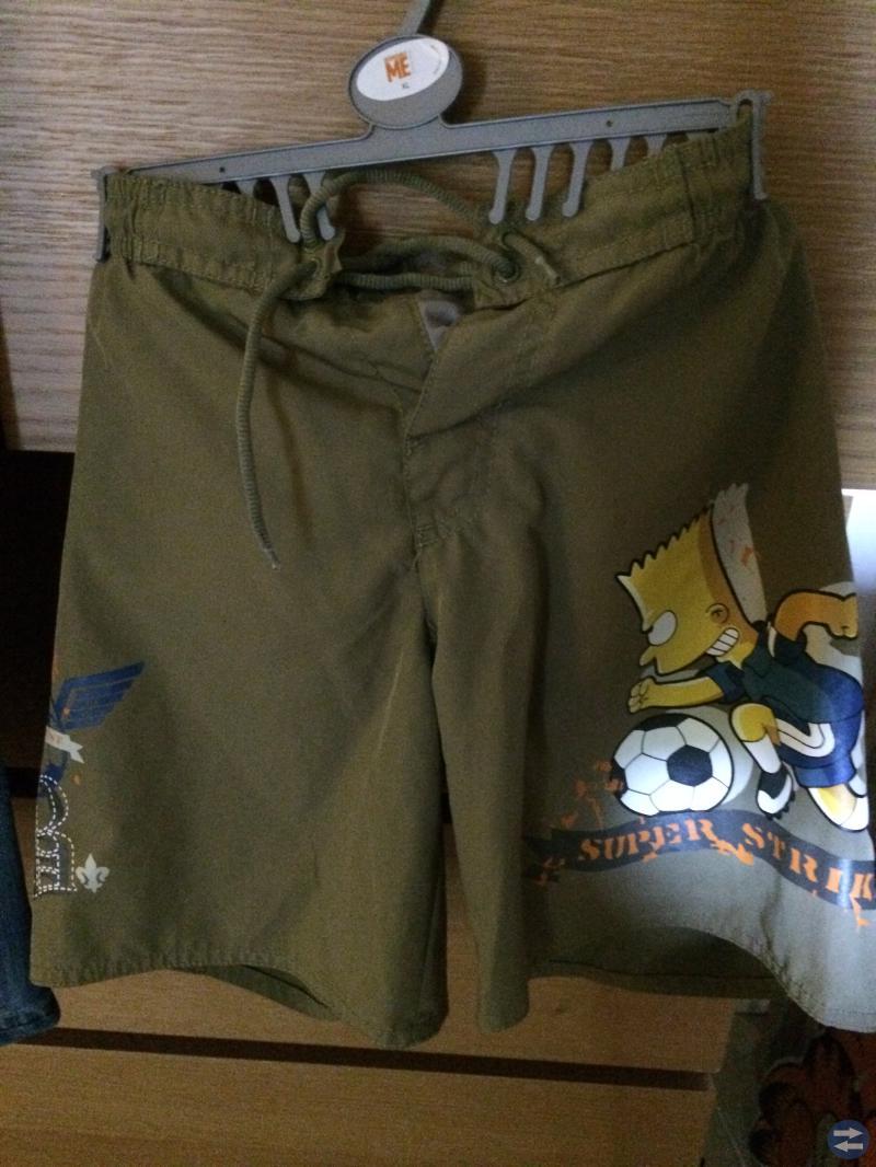 Jeansshorts stl 7/8 år