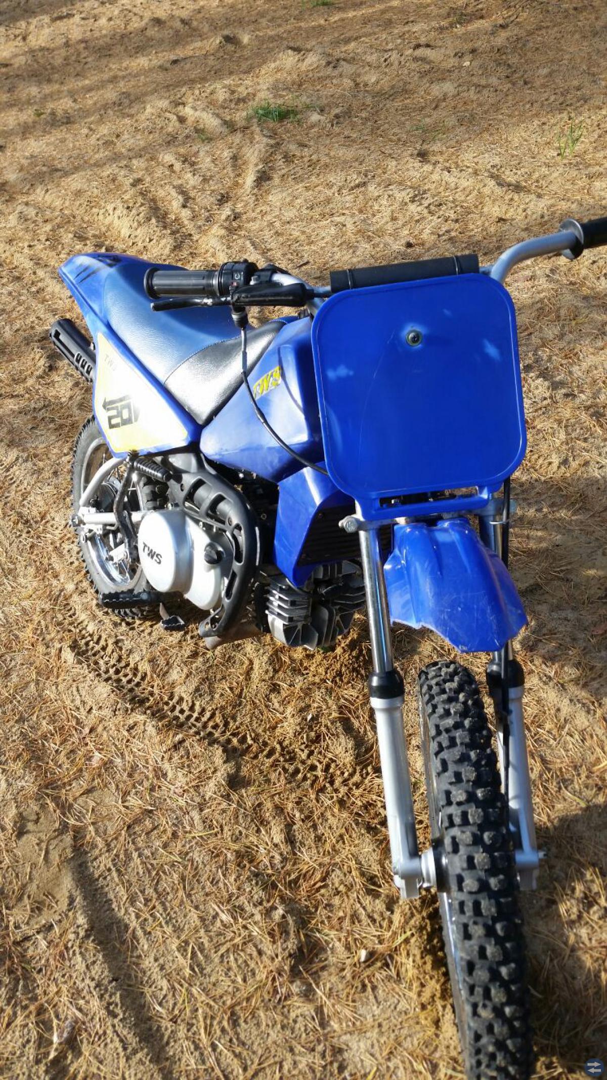 Barncross låghjulig TWS PY80 halvautomat -04