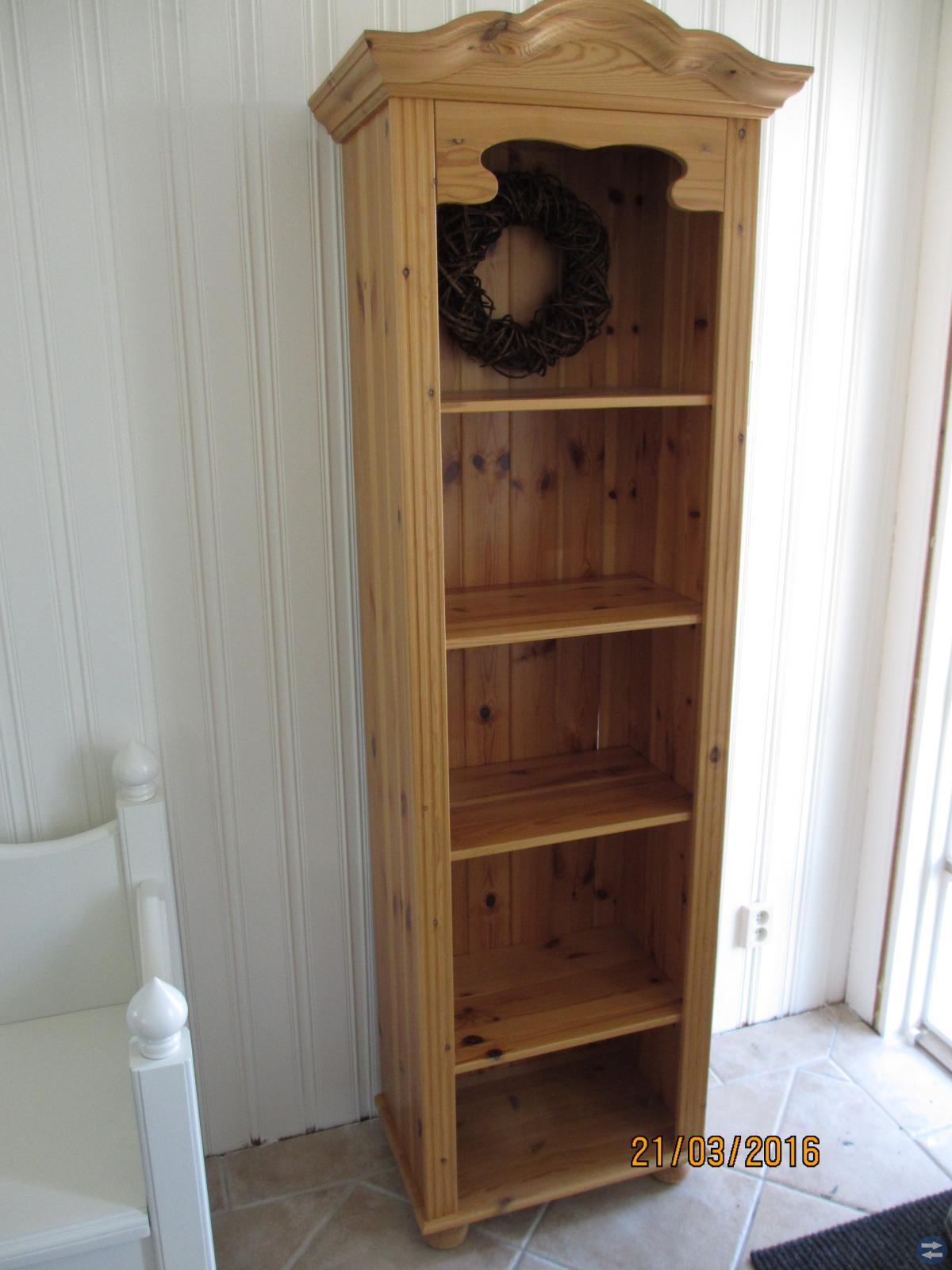Lättplacerad bokhylla / prydnadshylla
