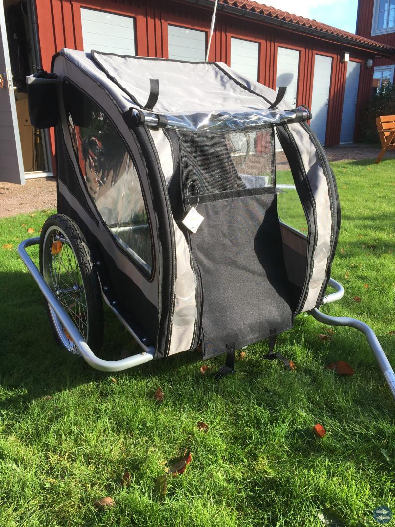 Cykelvagn för hund