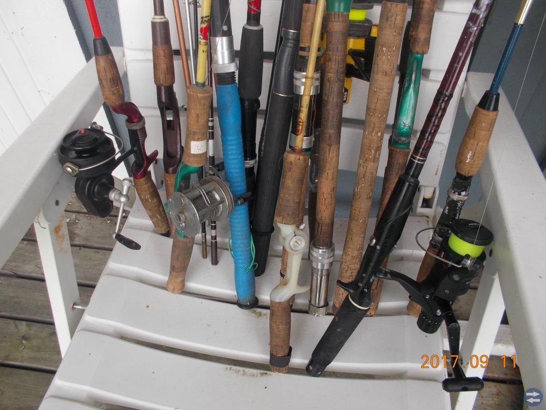 Fiskerullar och spön !!! billigt!
