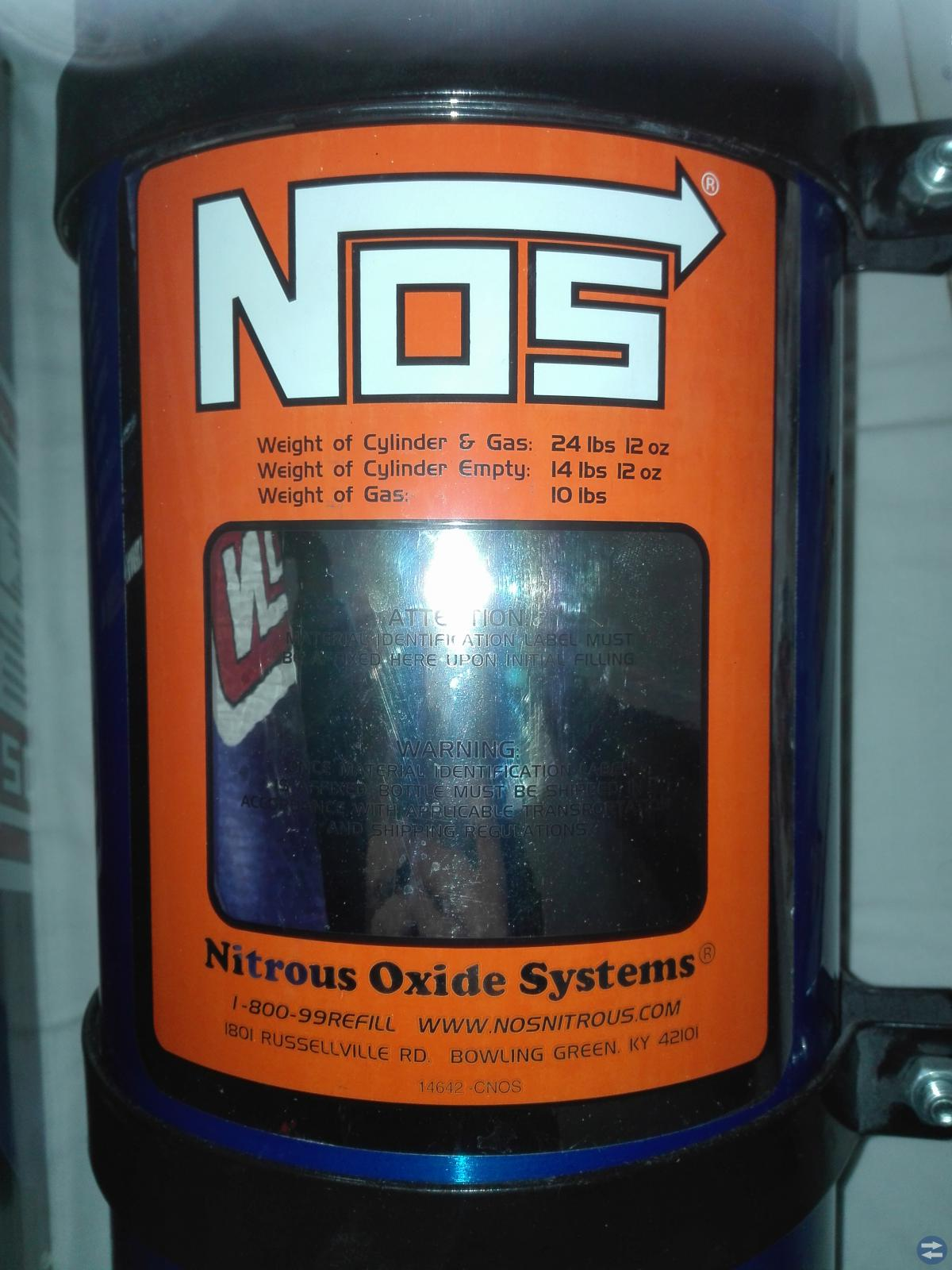 NOS lustgassystem universal