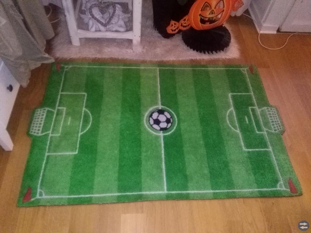 Fotbollsplan ~ Matta / Fotbollsmatta