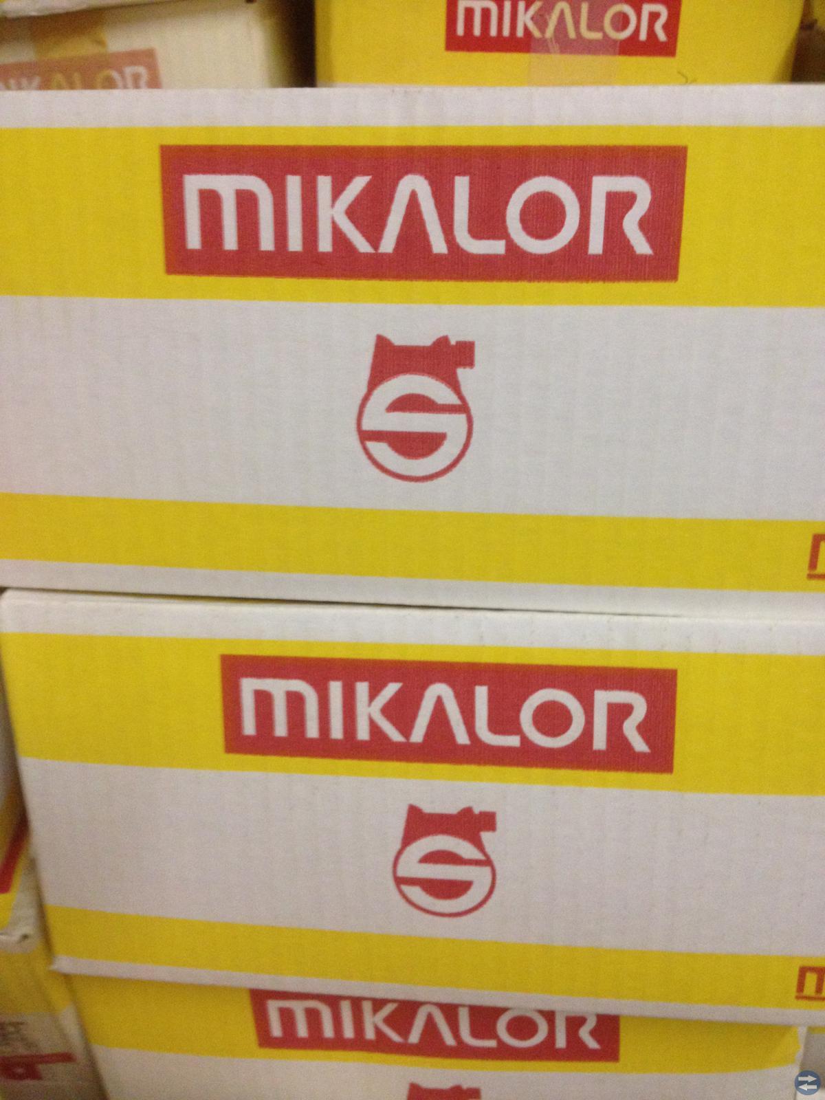 260 st Mikalor Slangklämmor , med förvaringslåda
