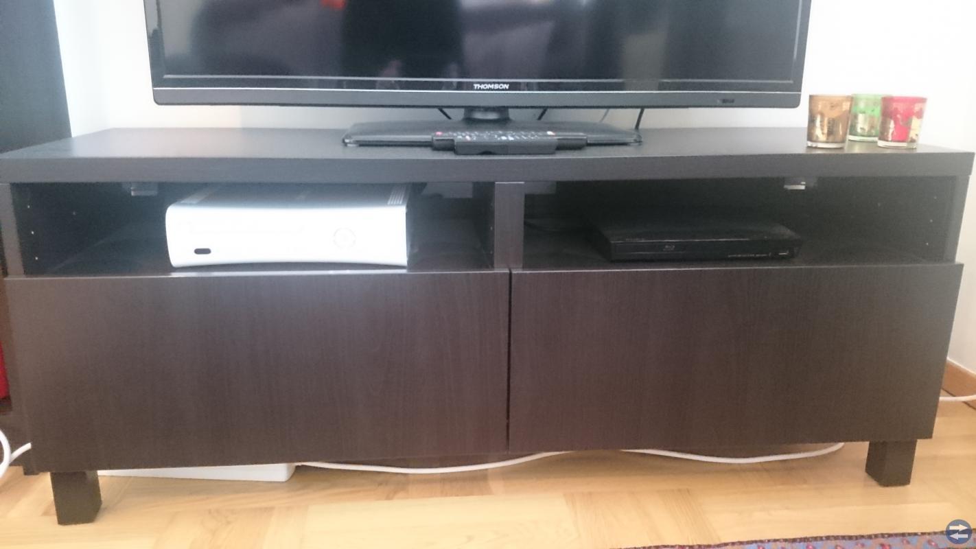 Tv bänk + bokylla
