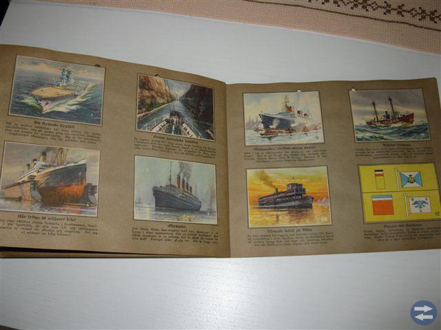 Samlaralbum - gamla fartyg och skepp