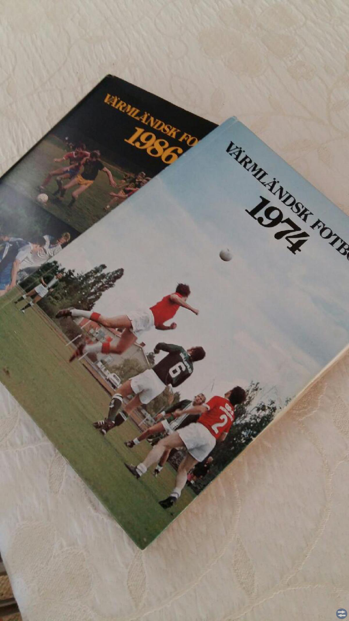 Värmländsk fotboll 1974-1986 -totalt 13 böcker