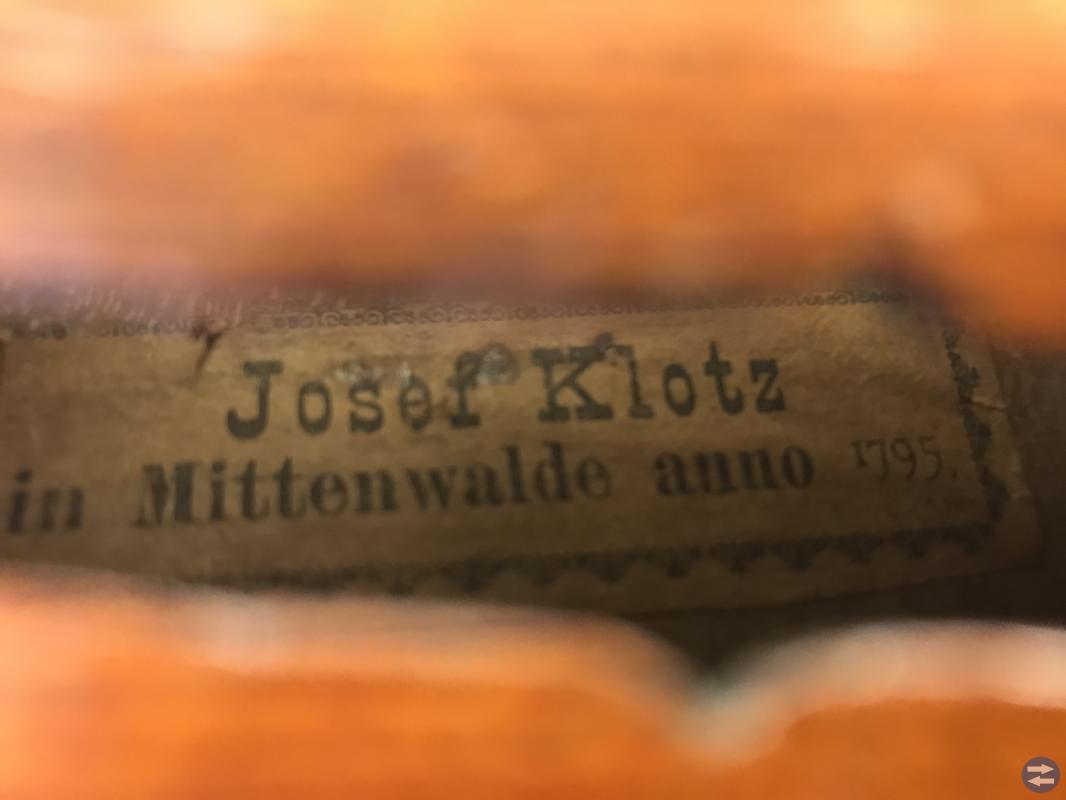 Fiol 3/4 Josef Klotz