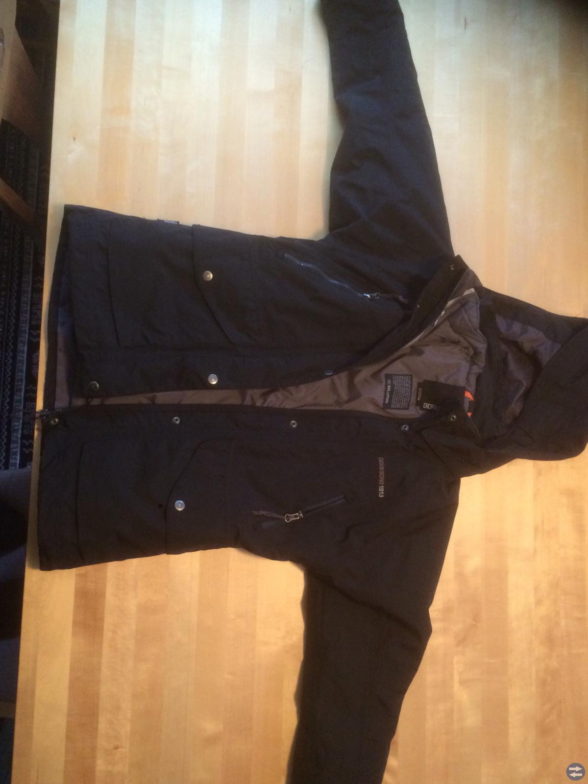 Didrikson vinterjacka (skaljacka) svart stl 160