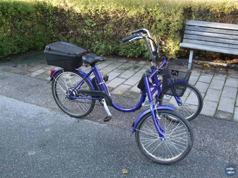 Handikappcykel, elcykel