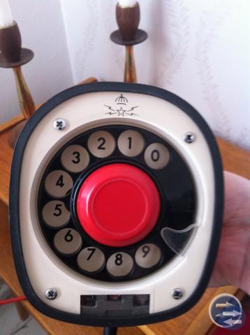 Grön  kobra  telefon