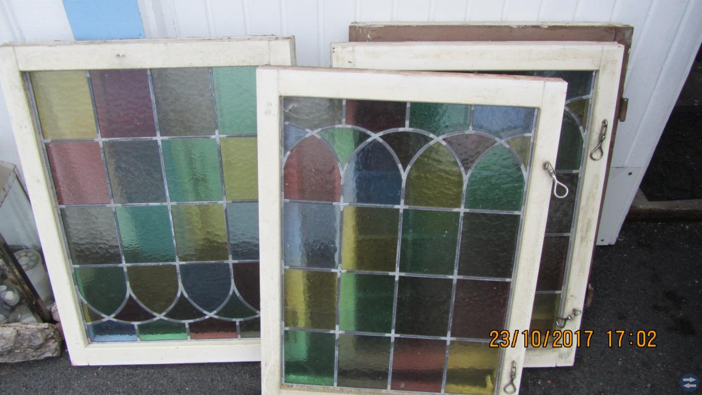 Blyinfattade fönster