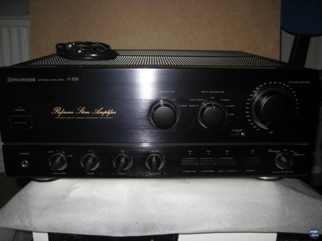 PIONEER REFERENCE STEREO AMPLIFIER A-858