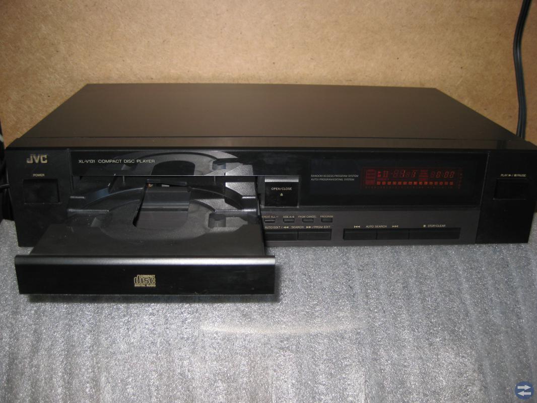 EN FIN CD SPELARE JVC XL-V131