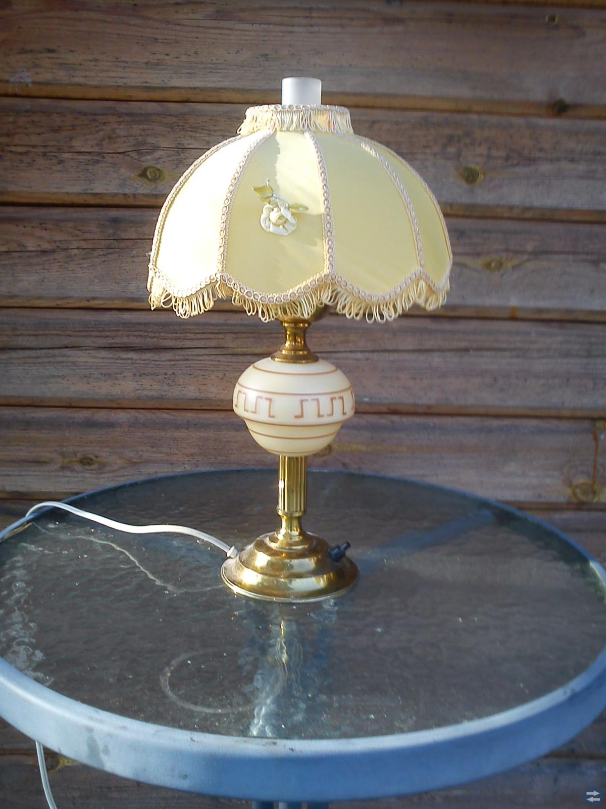Gammlabordslampor