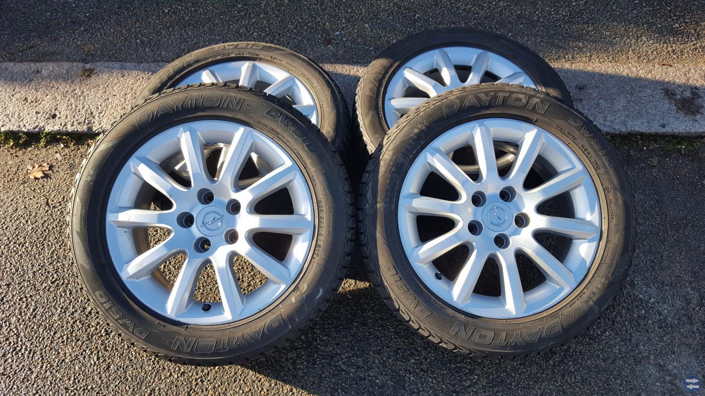 Opel original fälgar 16
