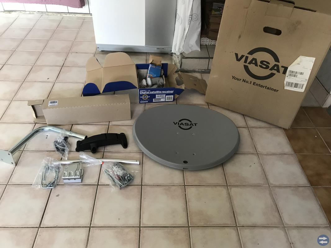 Viasat parabol