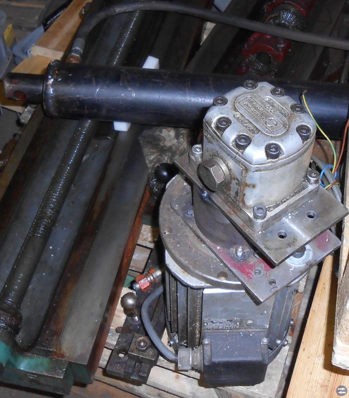 Hudraulpuump med motor