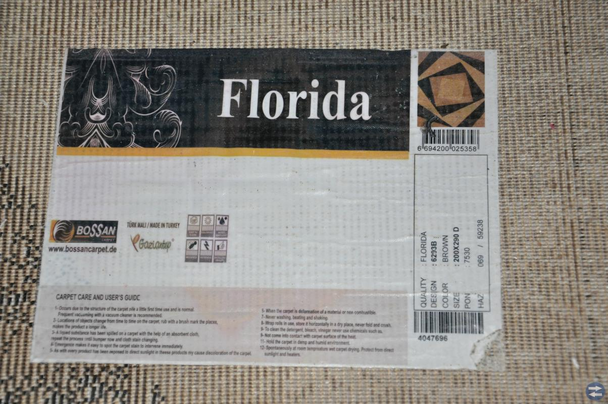 FLORIDA 200X290 made in TURKEY
