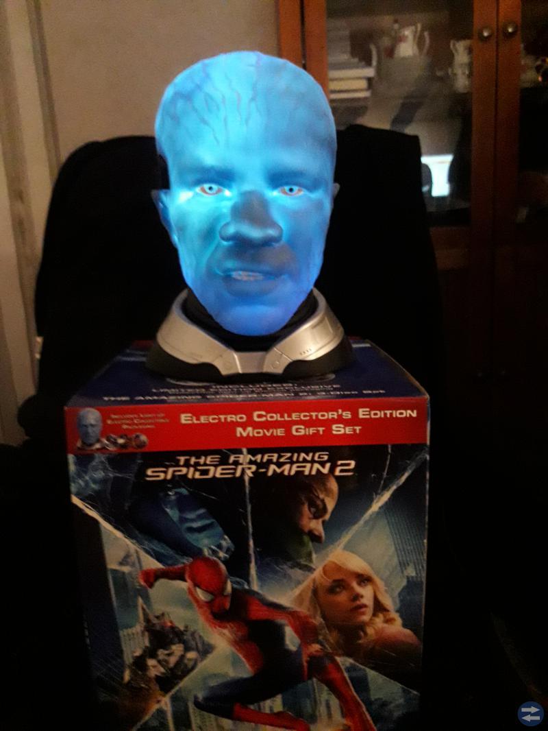 The amazing Spider-Man 2 head, XBOX 360 Splinter C