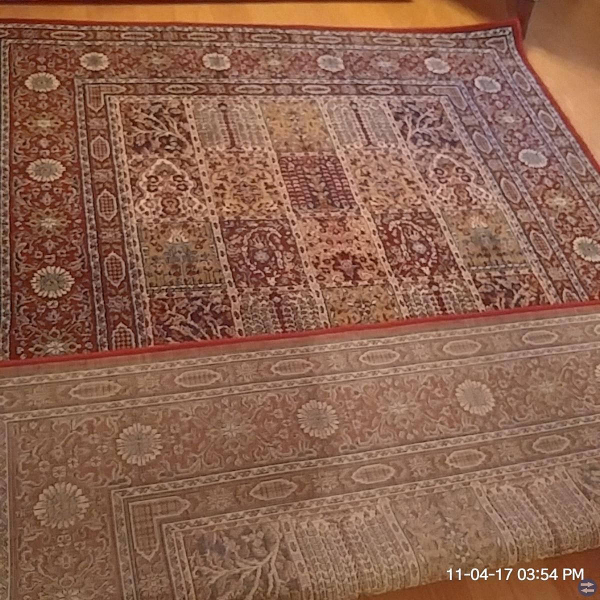 3 mattor, välvårdade + Svarta stövletter, Tamaris