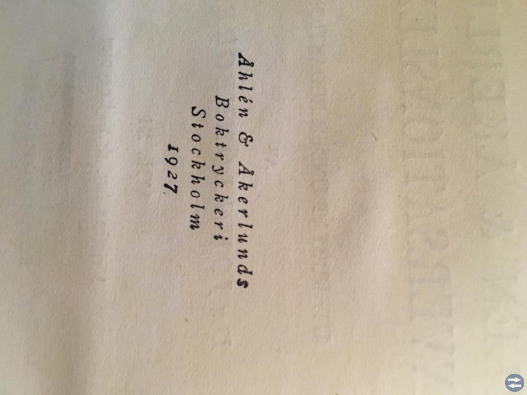 Åhlen & Åkerlunds Konversationslexikon 1927