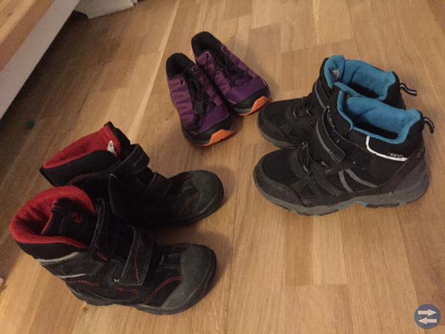 Kängor och skor