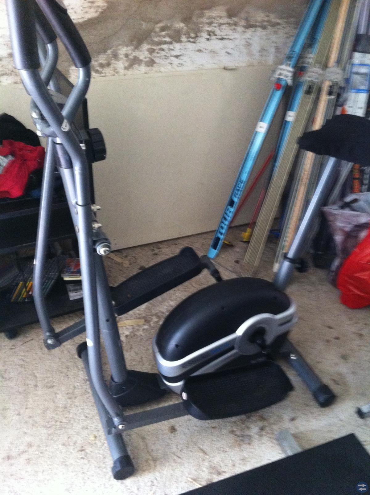 Crostrainer kombinerad med cykel
