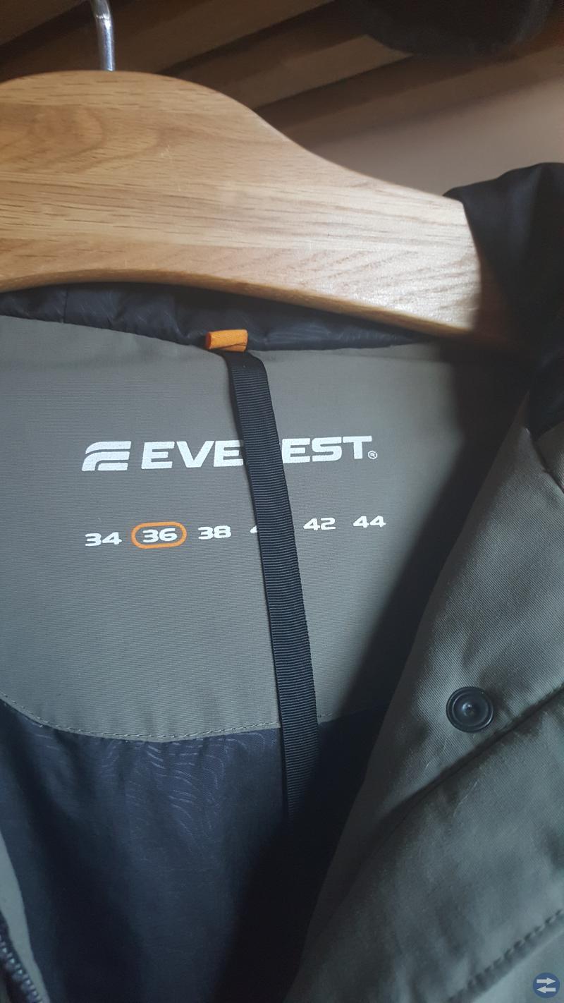 Vinterjacka Everest dunparkas dam stl 36