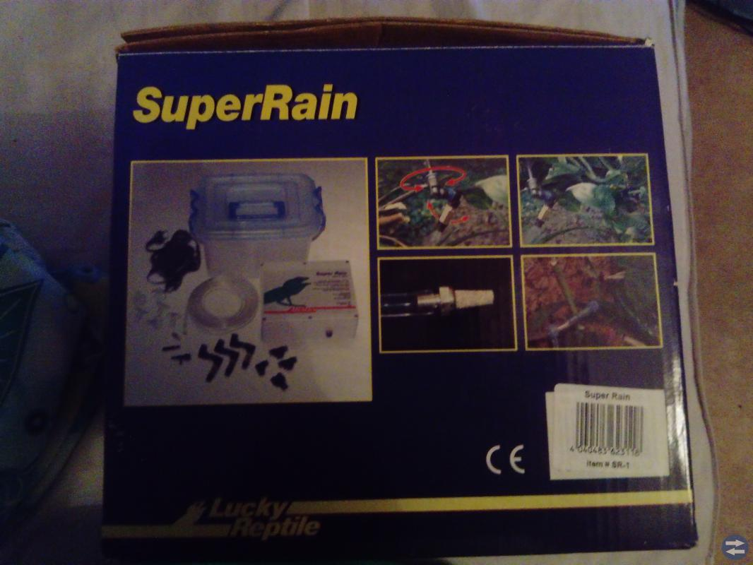 SuperRain terrarie Misting system