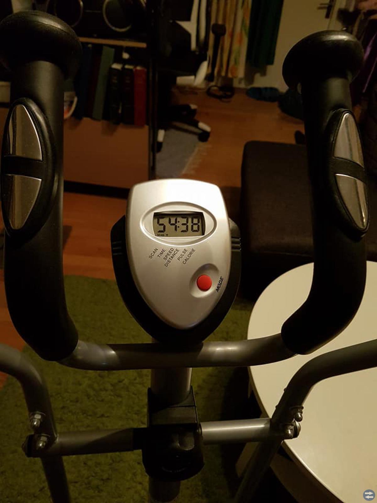 Gym/Vikter stänger tramp maskin