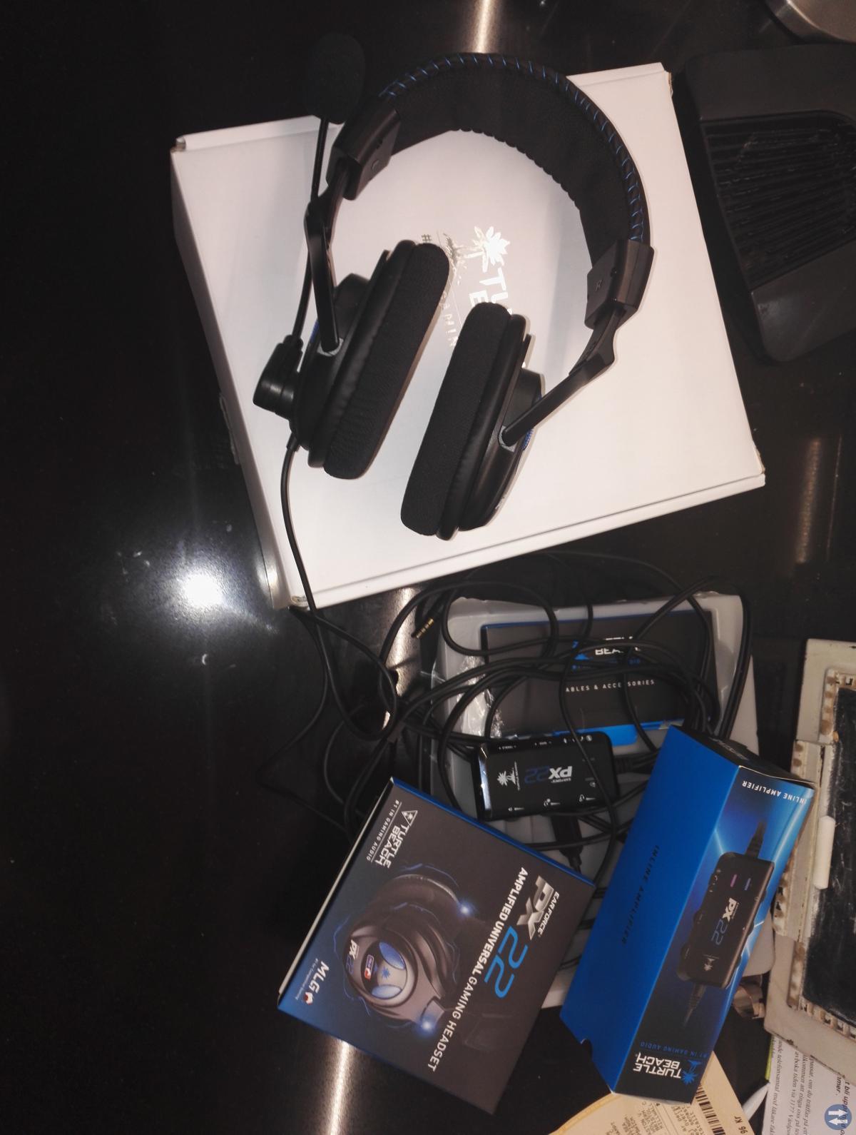 Turtle Beach Ear Force PX22 Gaming hörlurar