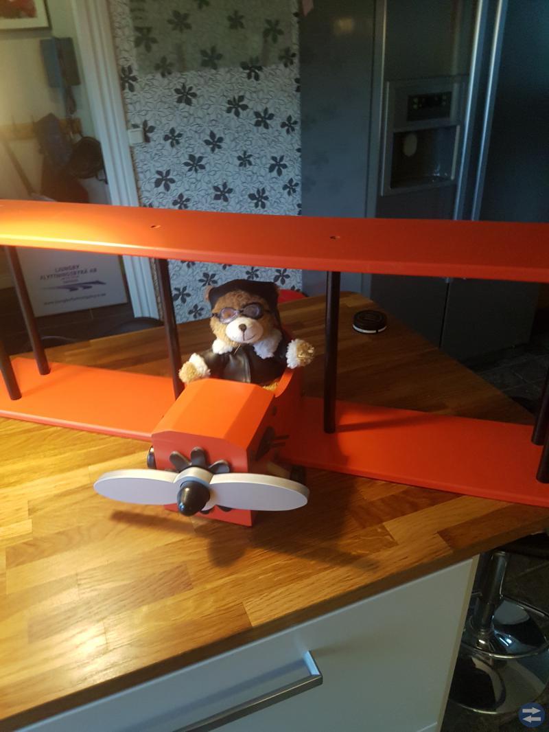Flygplanshylla