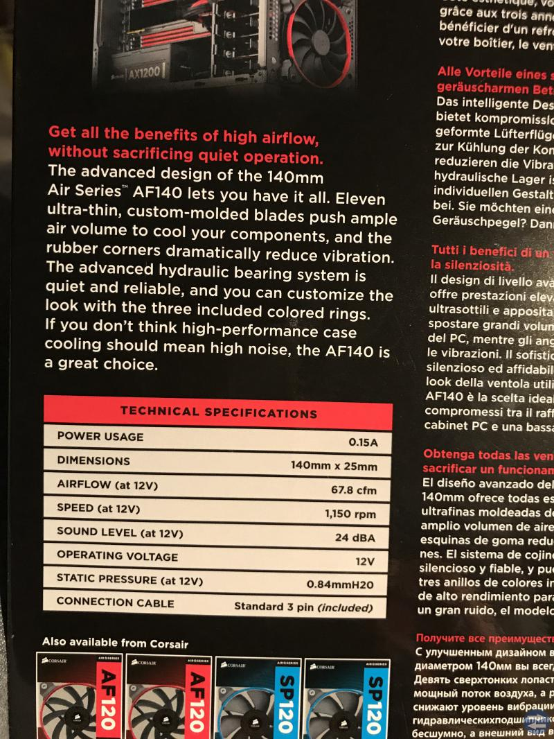 Corsair AF140