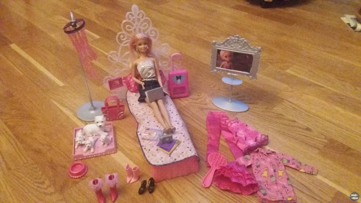 Barbiepaket (äkta Barbie)
