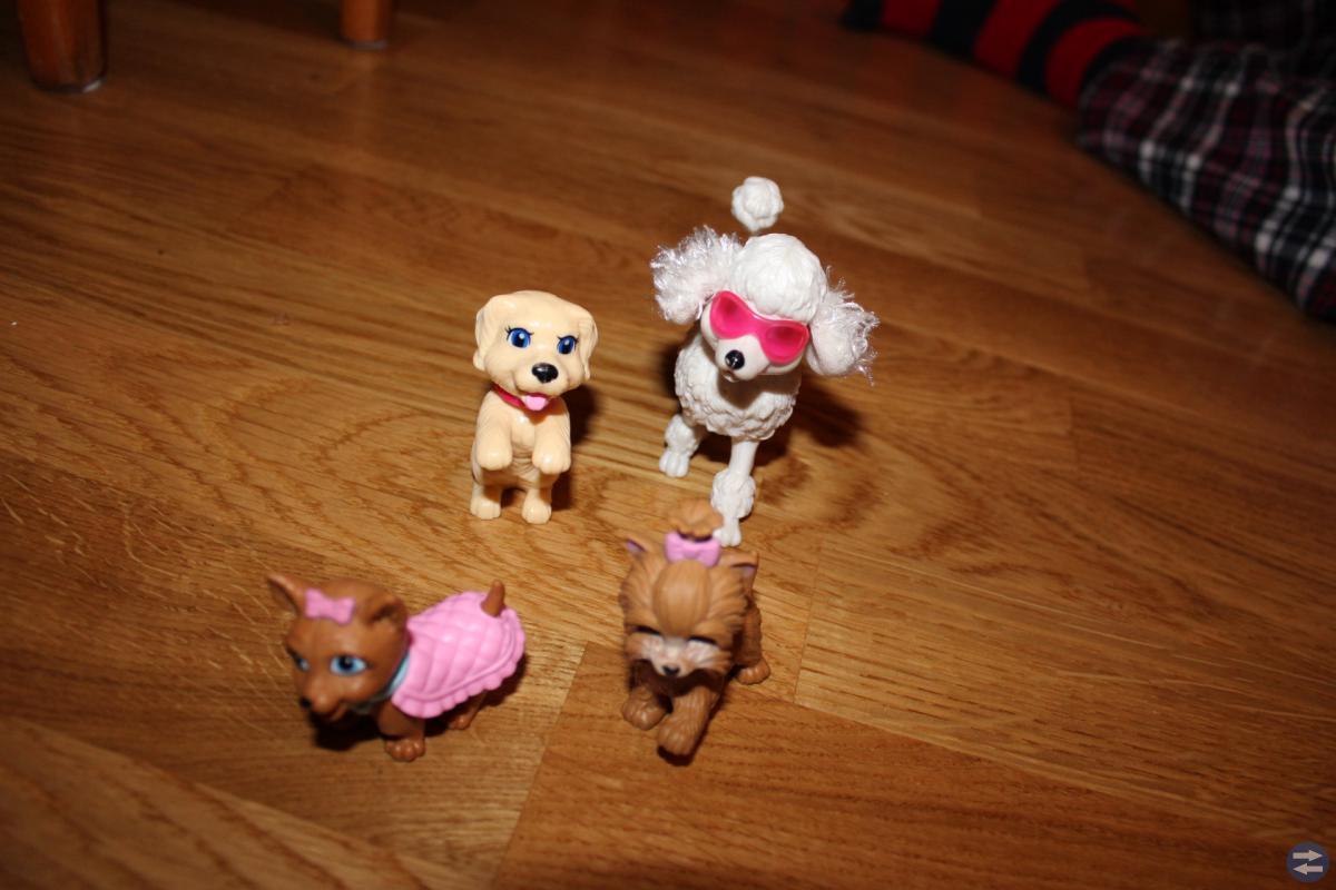 Ett Barbiepaket (äkta Barbie) med tema Shopping