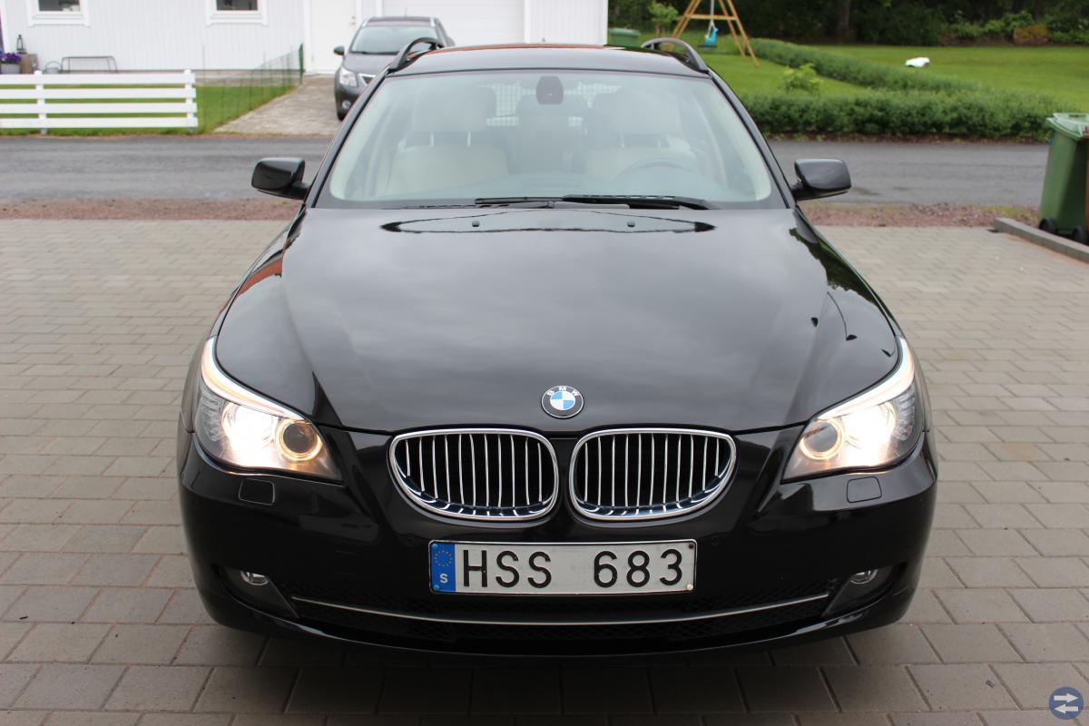 BMW 520i Touring 08  19200 mil
