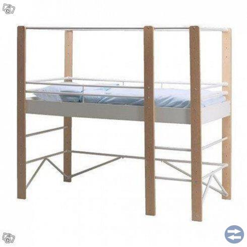 Loftsäng Ikea LO & madrass säljes