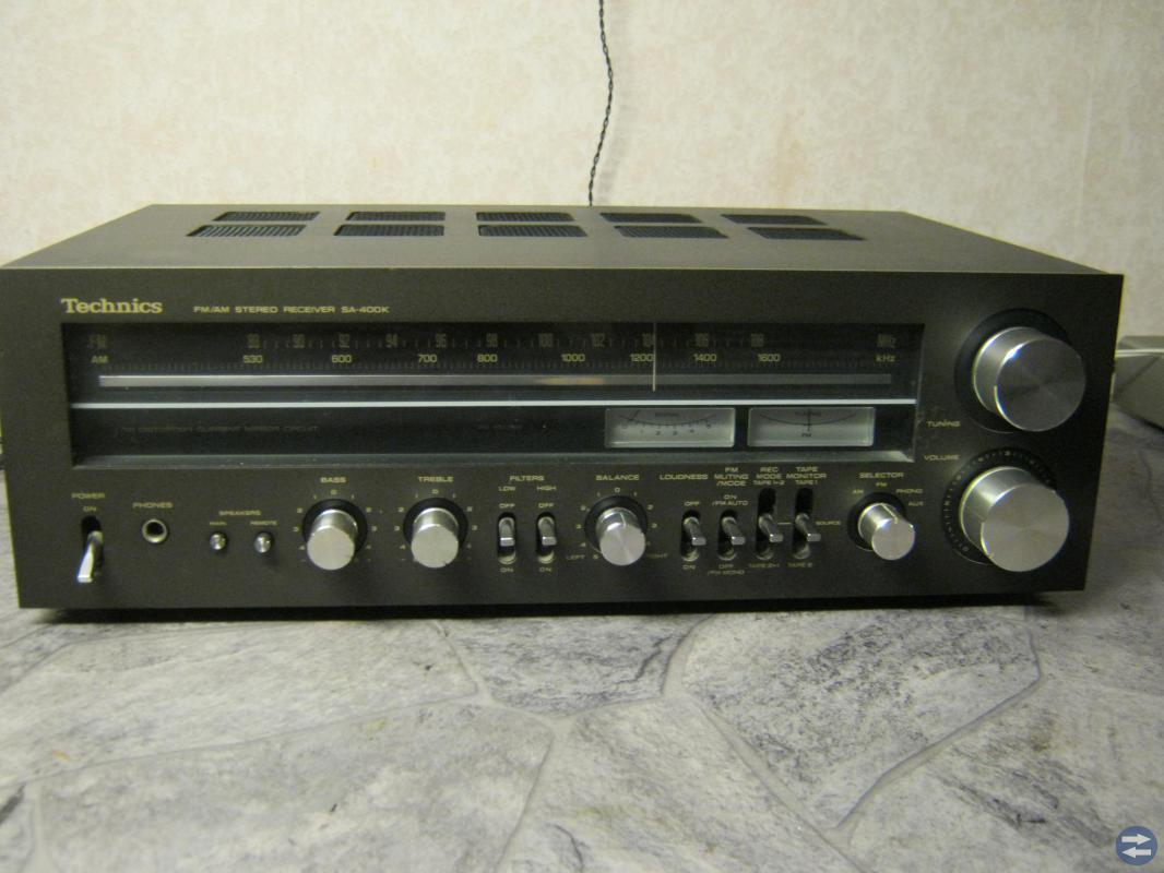 Technics SA-400 receiver vintage