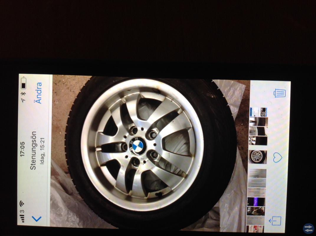 BMW vinterdäck säljes