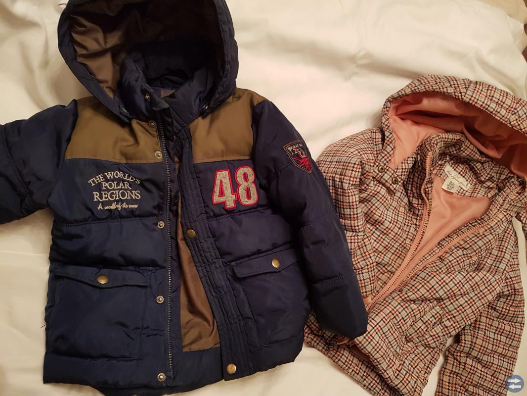 Vinter jackor pojkar