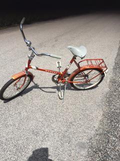 Cykel i orginalskick hopfällbar 20