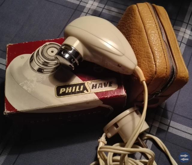 Elektrisk Rakapparat Philips-antik