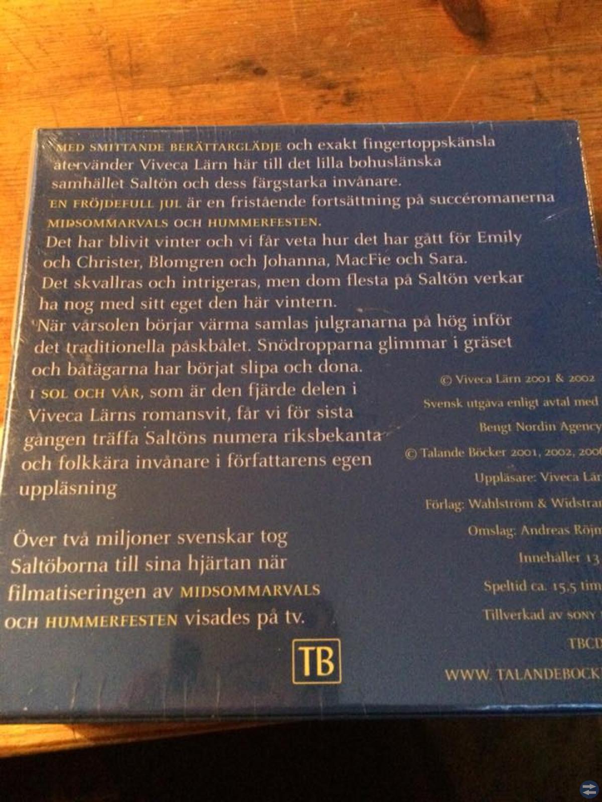 Saltön II Fortsättningen. oöppnad.